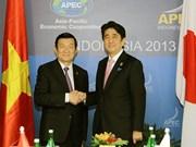 Presidente vietnamita parte de Hanoi para visitar Japón