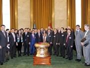 Continúa actividades en Ginebra titular parlamentario vietnamita