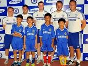 Asistirán niños vietnamitas a campamento futbol de Chelsea
