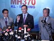 Malasia aprecia colaboración internacional en rastreo del avión
