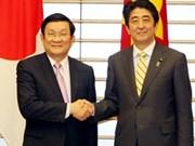 Vietnam y Japón elevan nivel de relaciones