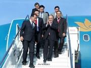 Presidente del Parlamento vietnamita inicia visita a Italia