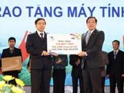 Promueven uso de ordenadores en áreas desfavorecidas en Vietnam