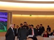Vietnam apoya esfuerzos internacionales por garantizar derechos humanos