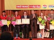 Vietnam honra a sus deportistas más destacados en 2013