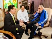 Premier vietnamita se reúne con Fidel Castro