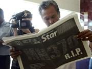 """Último mensaje del avión perdido: """"Buenas noches, Malaysia 370"""""""