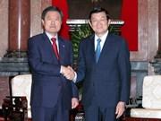 Presidente vietnamita resalta relaciones con Sudcorea