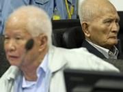 Anuncian en Cambodia cargos contra ex dirigentes de Khmer Rojo