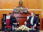 Amplían Vietnam y Cuba colaboraciones