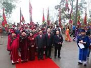 Vietnamitas rinden homenajes a fundadores de la nación