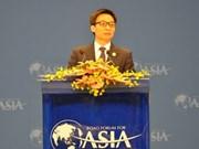 Vicepremier vietnamita interviene en Foro de Boao