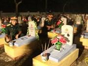 Celebran réquiem por mártires en Khe Sanh
