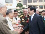 Presidente realiza visita de trabajo en Vinh Phuc