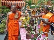 Restauran en Hanoi fiesta tradicional de khmeres