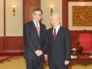 Dirigentes vietnamitas reciben a delegación partidista china