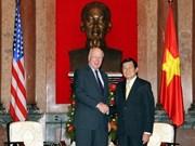 Relaciones Vietnam – EE.UU. obtienen notables progresos
