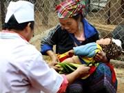 Libres de sarampión 10 provincias vietnamitas