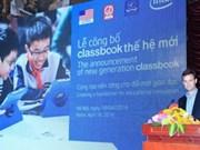 Presentan en Hanoi nuevos libros de texto electrónicos