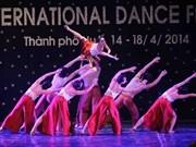 Concluye con éxitos Primer Festival internacional de danza en Vietnam