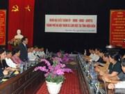 Donación capitalina para construcción de escuela en Dien Bien