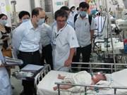 Empeñado Vietnam en controlar el sarampión
