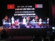 Recuerdan en Vietnam triunfo cubano de Girón