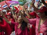 Gobierno tailandés se prepara ante eventual violencia en Bangkok