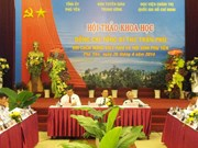 Seminario sobre Tran Phu, primer secretario general del PCV