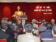 Intelectuales vietnamitas en Francia respaldan desarrollo nacional