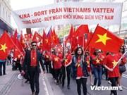 Vietnamitas en Suecia y Bulgaria se suman a protestas contra violación china