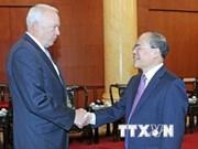 Dirigente legislativo destaca lazos Vietnam-EE.UU.