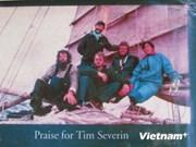 Vietnamita cruza Pacífico en balsa de bambú