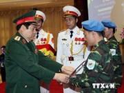 Vietnam ratifica sus compromisos en mantenimiento de paz