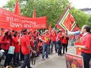 Vietnamitas en Alemania protestan violación china en el Mar Oriental