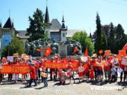 Continúa olas de protestas contra China en Suiza