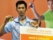 Raquetista vietnamita queda fuera de los 10 mejores del ranking mundial