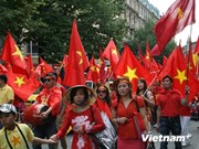 Vietnamitas en Alemania continúan marchando en contra de actos chinos