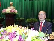 Parlamento vietnamita clausura séptimo período de sesiones