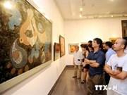 Muestra de pinturas de laca abre Días de Cultura Vietnamita en Rusia