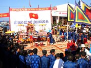 Reviven en Hanoi rito de homenaje a patrulleros de Hoang Sa
