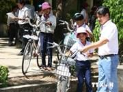 Alumnos vietnamitas beneficiados con programa estadounidense