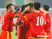 Fútbol: Victoria aplastante de Vietnam a Myanmar
