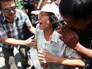 Tailandia dicta sentencia contra activista antigolpista