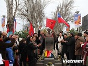 Ho Chi Minh tiene su monumento en Chile