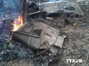 Cae en Vietnam helicóptero militar durante entrenamiento