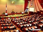 Parlamento laosiano inicia sesiones de trabajo
