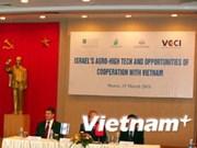 Vietnam e Israel intensifican colaboración