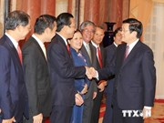 Presidente: diplomacia debe encabezar defensa nacional