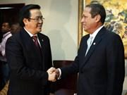 Dirigente partidista dominicana reafirma unidad con Vietnam